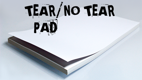 No Tear Pad (XL, 8.5 X 11, Tear/No Tear Alternating/ 50) by Alan Wong - Trick