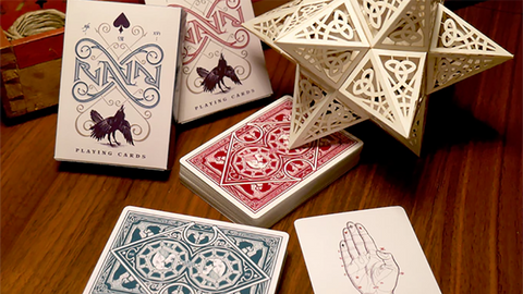 Ravn Playing Cards (Green) Designed by Stockholm17