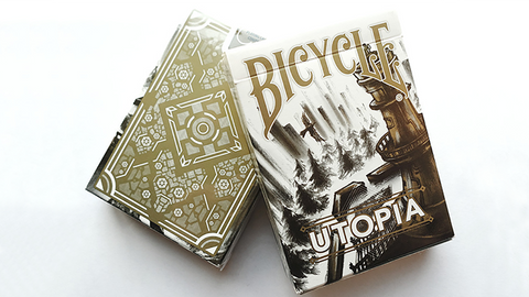 Bicycle Utopia Gold Playing Cards by Card Experiment