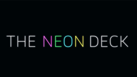 Neon Deck (Blue) by SansMinds - Trick