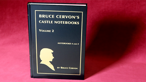 Bruce Cervon Castle Notebook, Vol. 2 - Book