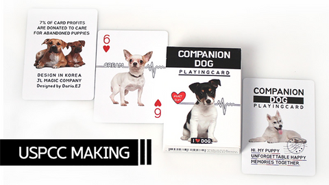 Companion Dog Playing Card