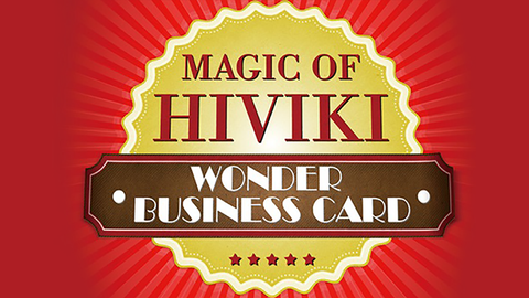 Wonder Business Card by Hiviki - Trick
