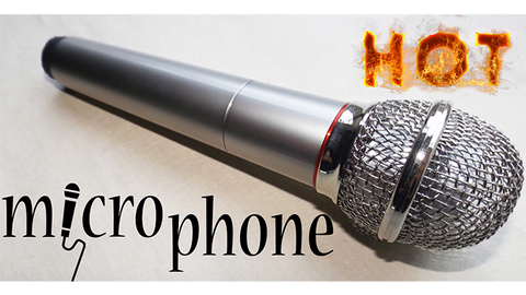 Hot Microphone by Amazo Magic - Trick