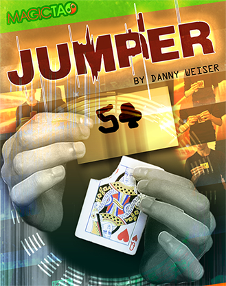 Jumper Red (Gimmick and Online Instructions) by Danny Weiser - Trick