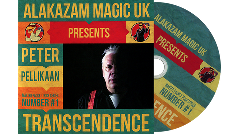 Transcendence (DVD and Gimmicks) by Peter Pellikaan and Alakazam Magic - DVD