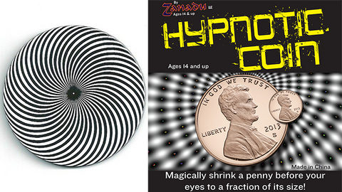 Hypno Coin (Hypnotic Coin) by Zanadu Magic - Trick
