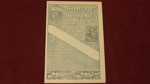 Kar Mi and His Mysteries of India (Rare/OOP) - Other