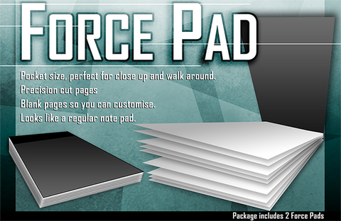 Force Pads (Set of Two) by Warped Magic - Trick