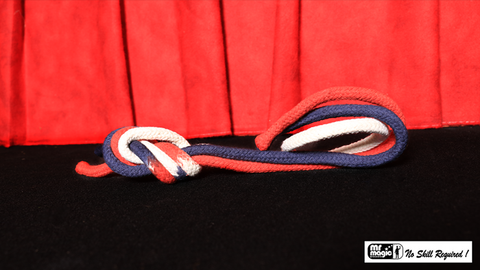 "Multicolor Rope Link (Regular Cotton) 24"" by Mr. Magic - Trick"