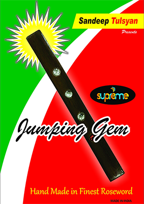 Jumping Gem Paddle by Sandeep Tulsyan - Trick