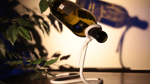 Magic Rope Bottle Holder by YUM Magic - Trick