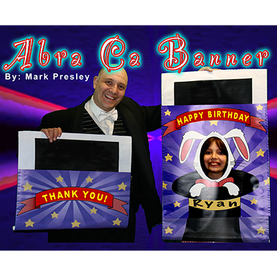 Abra-Ca-Banner Set (2 piece) by Mark Presley - Trick