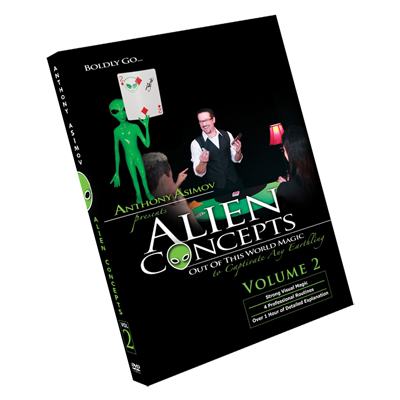 Alien Concepts Part 2 by Anthony Asimov Black Rabbit Series Issue #1 -DVD