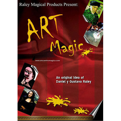 Art Magic (with DVD) by Gustavo Raley - Trick