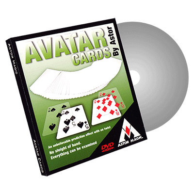 Avatar Cards (Red) by Astor