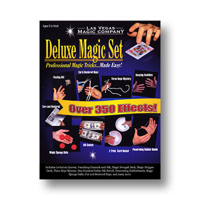 Deluxe Magic Set by Las Vegas Magic Company - Trick
