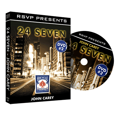 24Seven Vol. 2 by John Carey and RSVP Magic - DVD