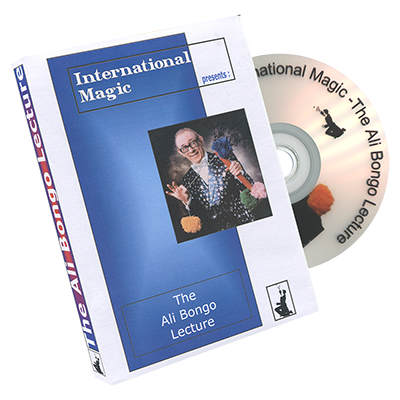 Ali Bongo Lecture by International Magic - DVD