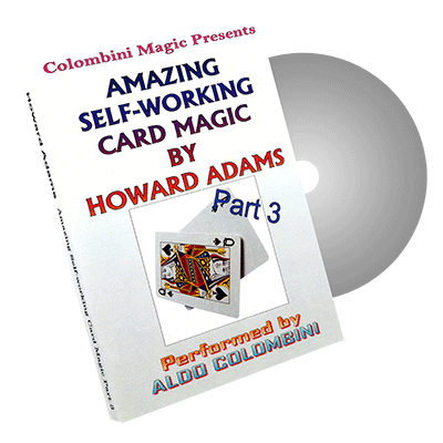 Amazing Self-Working Card Magic by Wild-Colombini Magic - DVD