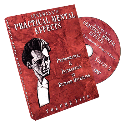 Annemann's Practical Mental Effects Vol. 5 by Richard Osterlind - DVD