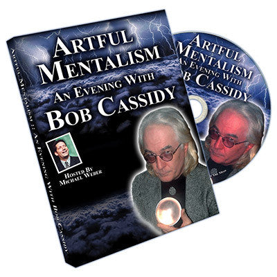 Artful Mentalism: An Evening with Bob Cassidy CD - DVD