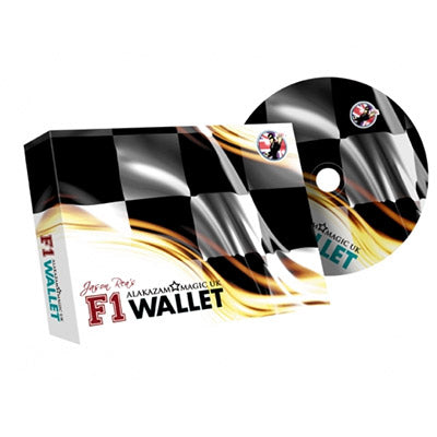 F1 Wallet (Red) by Jason Rea and Alakazam - DVD