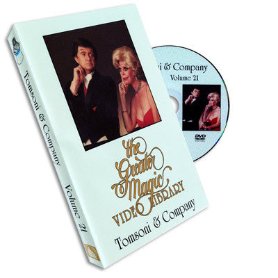 Greater Magic Video Library Vol 21 Tomsoni & Company - DVD