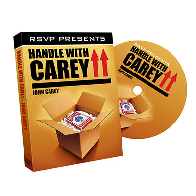 Handle with Carey by John Carey and RSVP Magic - DVD