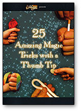 (HR) 25 Amazing Magic Tricks with a Thumbtip, DVD - Boardwalk Magic