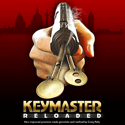 Keymaster Reloaded (DVD and Gimmick) by Craig Petty and World Magic Shop - DVD