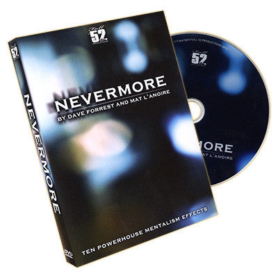 Nevermore by Mat L'Anoire - DVD