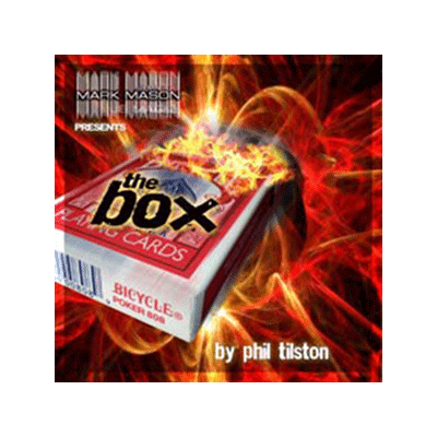 The Box (DVD and Gimmick) by Phil Tilston & JB Magic - DVD