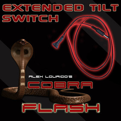 Extended Mercury Tilt Switch Accessory for Cobra Flashes - Tricks