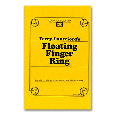 Floating Ring Manuscript by Terry Lunceford - Book