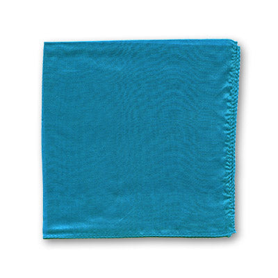 Silk 12 inch single (Turquoise) Magic by Gosh - Trick