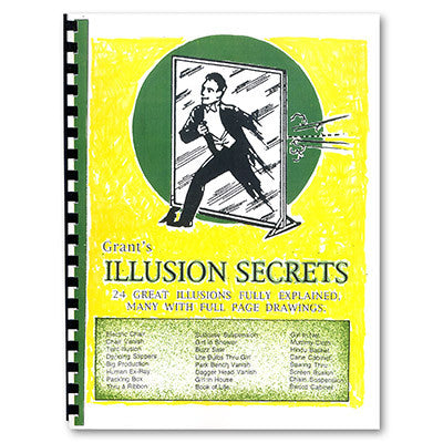 Grant's Illusion Secrets by Paul Osborne - Book