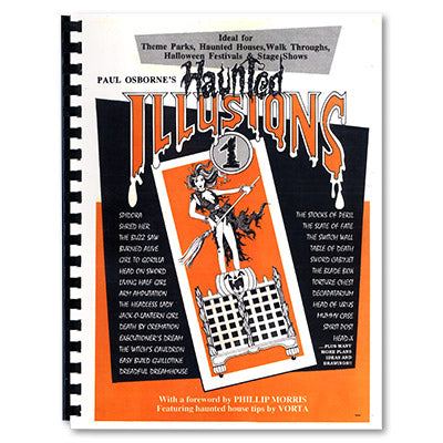 Haunted Illusions by Paul Osborne - Trick