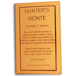 Hunter's Monte by Rudy Hunter - Trick