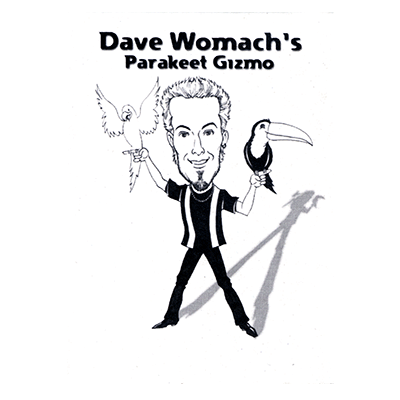Parakeet Gizmo (Black) by Dave Womach - Trick