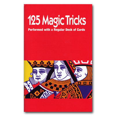125 Tricks with Cards booklet Royal Magic - Boardwalk Magic