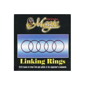 "5"" Linking Rings by Royal Magic - Trick"