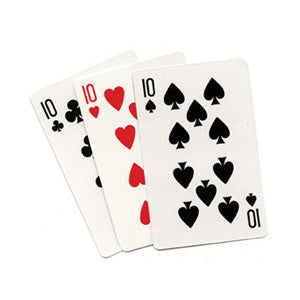 3 Card Monte (Blank) by Royal Magic - Trick - Boardwalk Magic