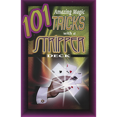 101 Amazing Magic Tricks with a Stripper Deck by Royal Magic - Book - Boardwalk Magic
