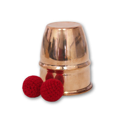 Chop Cups Copper by Uday - Tricks
