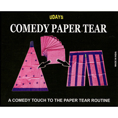 Comedy Paper Tear by Uday -Trick