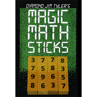 Magic Math Sticks (Wooden) by Diamond Jim Tyler - Trick