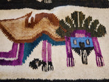 Tapestry wall hanging art decor Ancient Paracas Aspen Andes