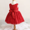 Embroidered New York Chic Flower Girl Dress