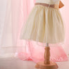 Ivory Tutu Pearl Flower Girl Dress